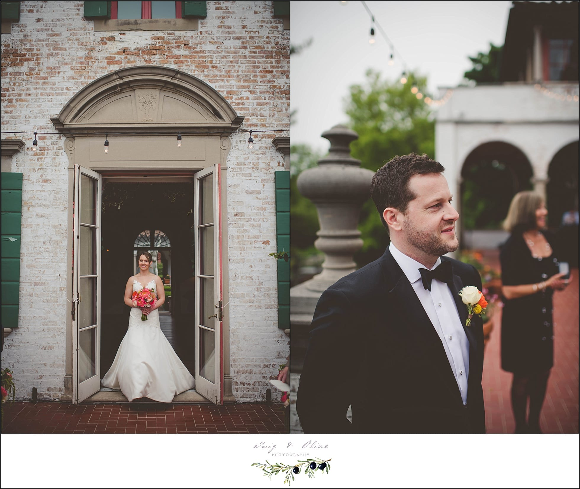 Twig olive photographyvilla terrace wedding milwaukee for Terrace wedding