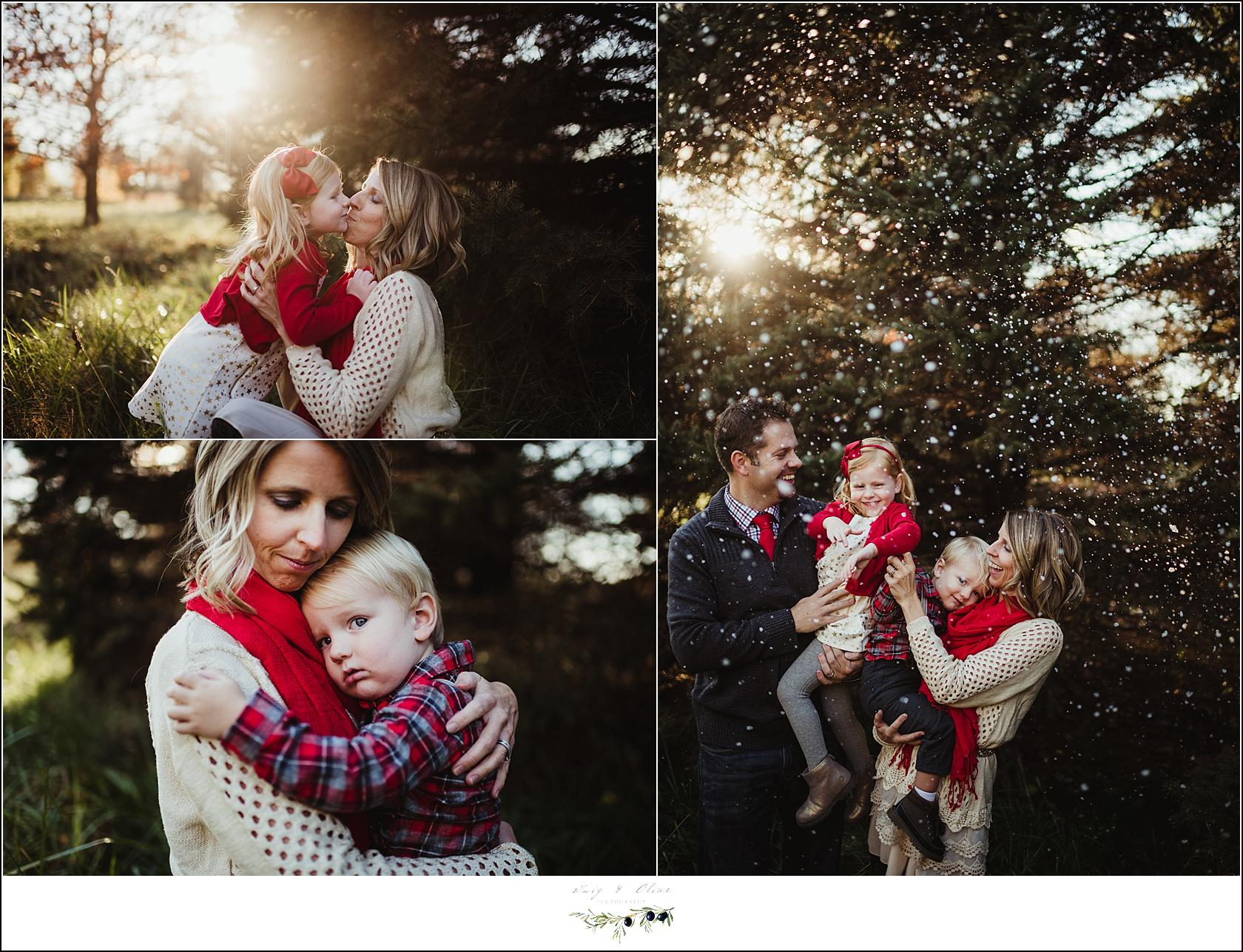 Wisconsin Outdoor Family Session