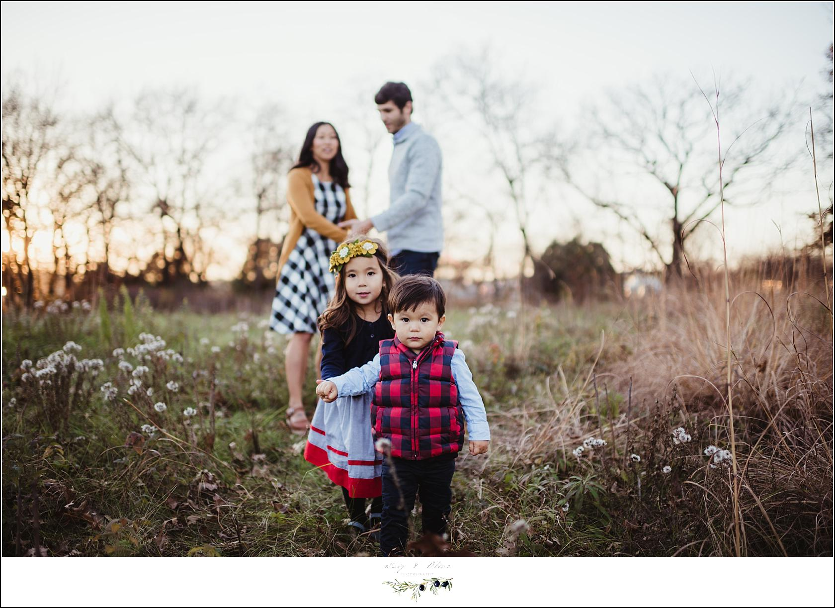 Family Fall Sunset Session