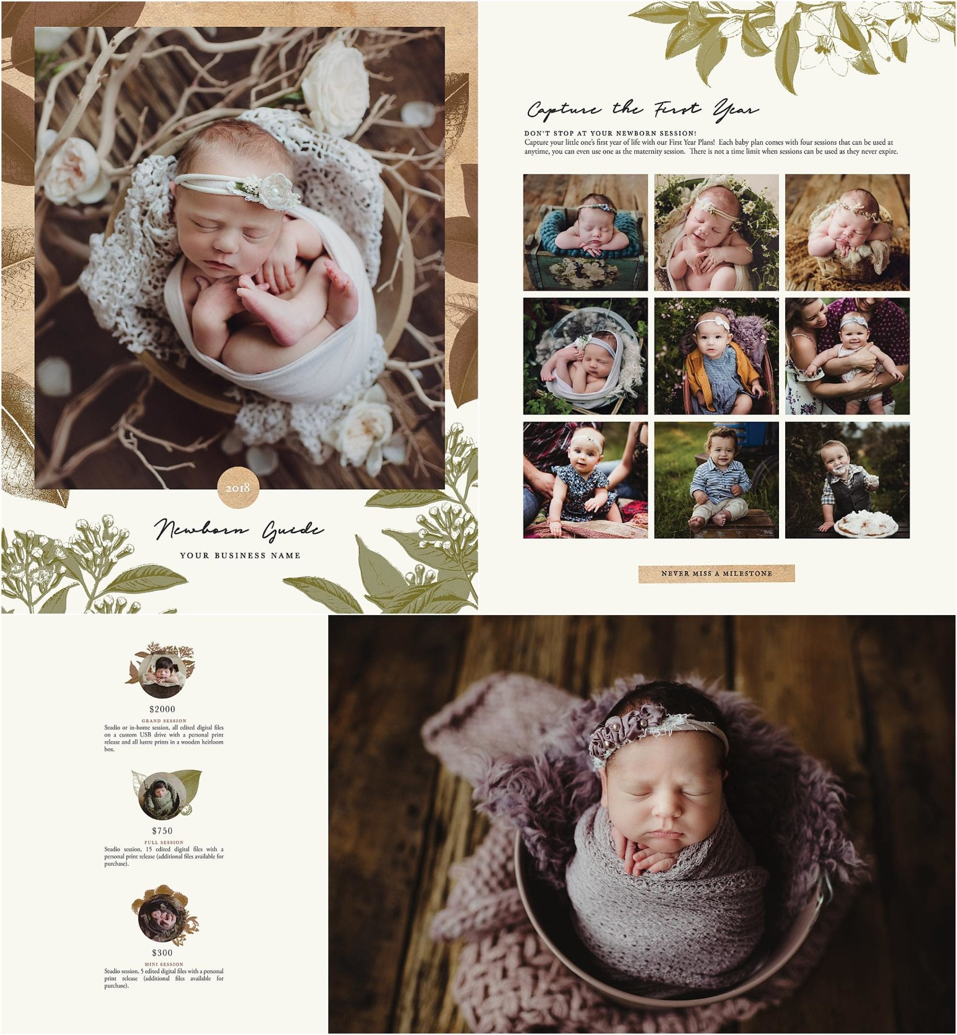 newborn photography pricing guide