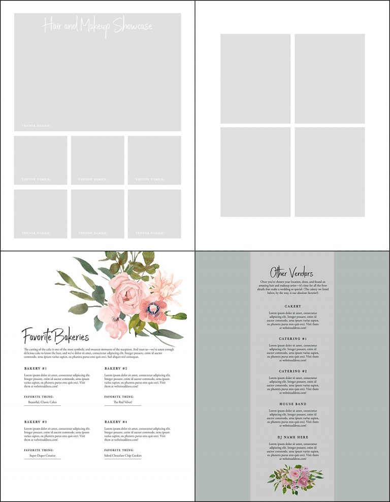 Vendor Guide | Geometric Floral