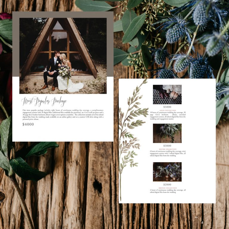 Wedding Pricing Guide Template | Simple Fern