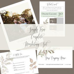 Complete Marketing Set | Simple Fern