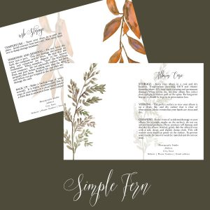 Client Care Cards | Simple Fern