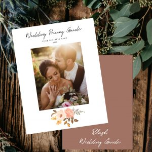 Wedding Pricing Guide Template | Blush