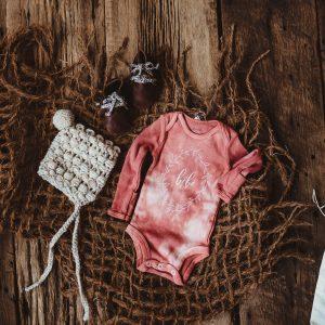 Gift Set   3 Piece Newborn Onesie + Hat + Shoe Set