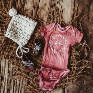Gift Set | 3 Piece 6 Month Onesie + Hat + Shoe Set