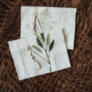Kitchen Towel Set | Sage + Asparagus Fern