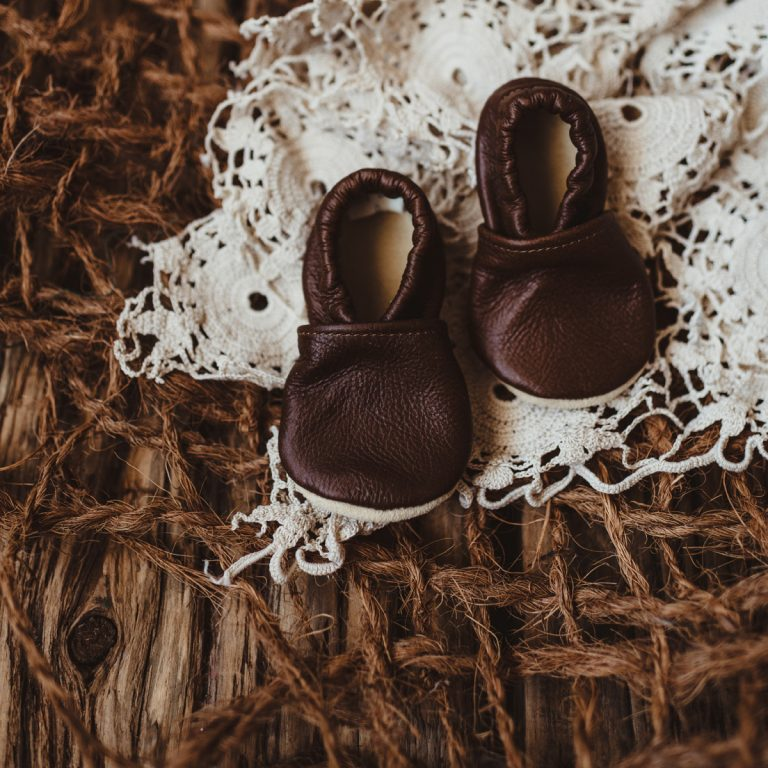 Scout | Size 0 | Leather Newborn and Toddler Shoes