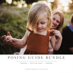 Posing Guide Bundle | Children and Family, Wedding and Newborn