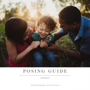 Child and Family Posing Guide